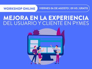 06/08   WorkShop Online: MEJORA EN LA EXPERIENCIA - #GRATIS