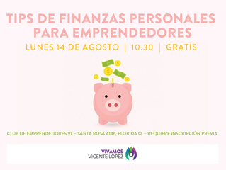 #Taller - Tips de Finanzas Personales para Emprendedores