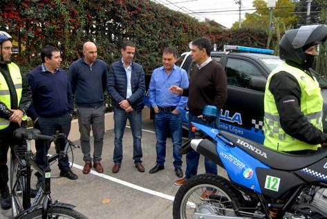 Jorge Macri recibió al intendente de Moreno en Vicente López
