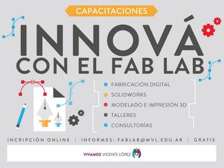#Capacitaciones - FabLabVL - Abierta la inscripcipción