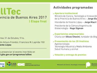 31/10 - AllTec - Provincia de Buenos Aires 2017 | Etapa Final