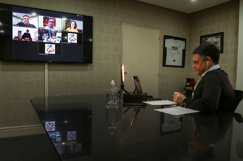 Foro virtual de intendentes del AMBA