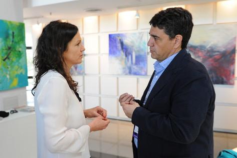 Jorge Macri estuvo presente en el Coloquio Anual de Idea 2016
