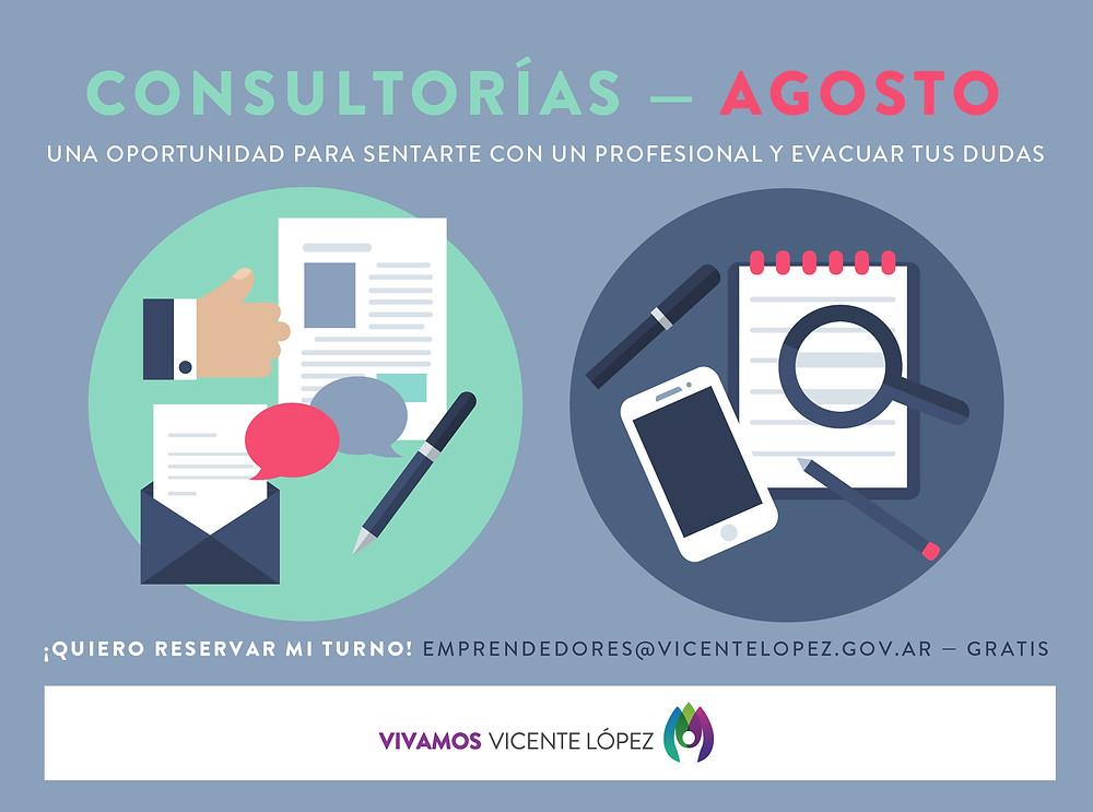 #Consultorías  |  AGOSTO