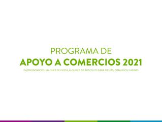 PROGRAMA DE APOYO ECONÓMICO A COMERCIOS 2021