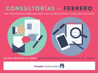 #Consultorías | Febrero
