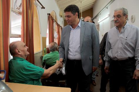 Jorge Macri firmó un convenio con Nación para remodelar el Geriátrico Municipal