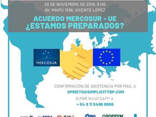 20/11 - Acuerdo MERCOSUR - UE ¿Estamos preparados?