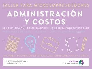 5/04 | Administración y costos #microemprendedores