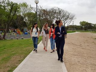 Continuamos con los recorridos por las nuevas obras en #ElCeibo
