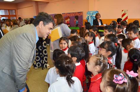 Jorge Macri inauguró el ciclo lectivo de la escuela municipal