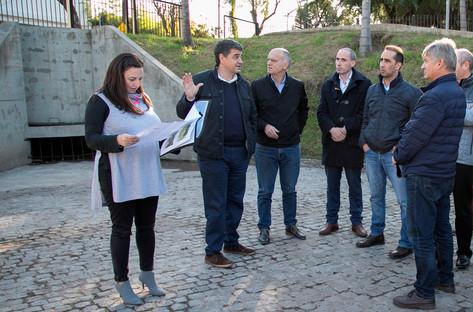 """Jorge Macri: """"Son obras muy importantes que marcan un antes y un después en la vida de miles de veci"""