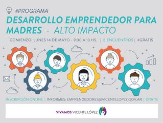 #Programa - Desarrollo Emprendedor para Madres - Comienza el 14/05