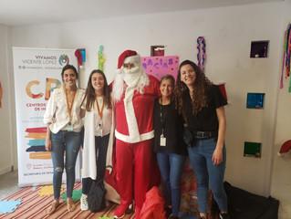 ¡Papá  Noel ya recorrió los CBI!