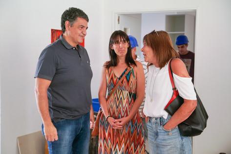 "Jorge Macri: ""Estos avances van a ser un emblema para la comunidad educativa de Vicente López"""