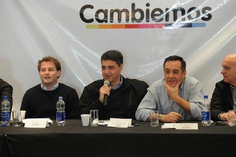 Jorge Macri estuvo presente en el Foro de Intendentes de Cambiemos