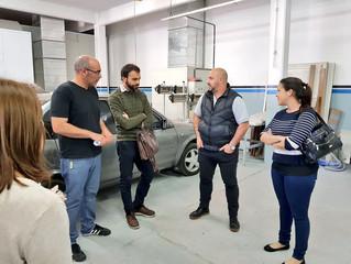 #CAI - Visita a Griffin Car Painters en Munro