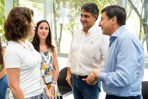 Jorge Macri recibió al ministro Daniel Arroyo para la entrega de tarjetas alimentarias