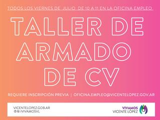 #OficinaDeEmpleo - TALLER DE ARMADO DE CV