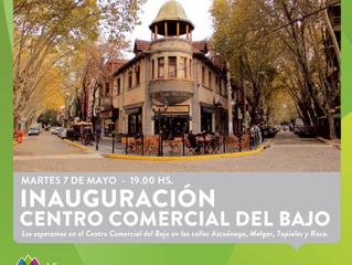 Te invitamos a la Inauguración del remodelado Centro Comercial del Bajo de Vicente López