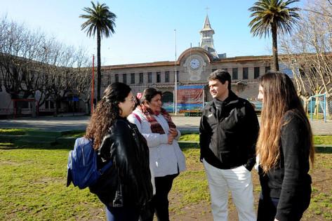 Jorge Macri visitó Mar del Plata y Pinamar