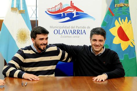 Jorge Macri recorrió Olavarria