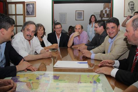 """Jorge Macri: """"Nuestro compromiso es consolidar la mesa de Cambiemos en Vicente López"""""""