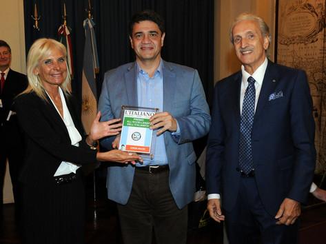 Jorge Macri recibió el premio L ìItaliano a la Excelencia en la Italianidad