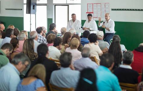 Jorge Macri y Horacio Rodríguez Larreta compartieron ideas de gestión con vecinos