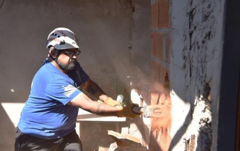 Jorge Macri y Ritondo anunciaron demolición de un búnker de droga