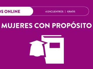 Programa Online: MUJERES CON PROPOSITO - #GRATIS