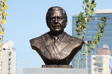 Homenajeamos a Ricardo Alfonsín en el Paseo de la Costa
