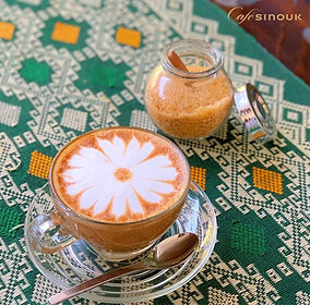 Cafe Sinouk Latte Art