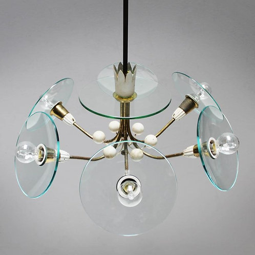 Chandelier by Pietro Chiesa, Italy