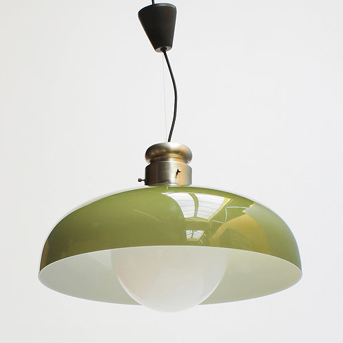 Italian Pendant by Alessandro Pianon for Vistosi