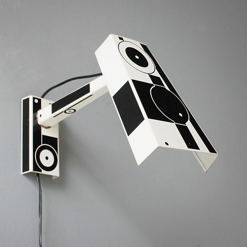 Pop-Art Wall Light by Hala Holland