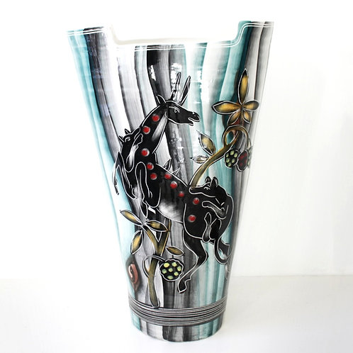 Large Italian Ceramic Vase