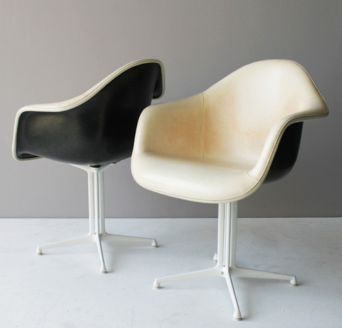 DAL armchairs by Charles and Ray Eames