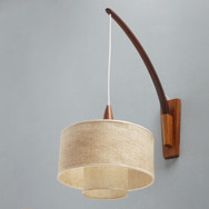 Danish swivel wall light
