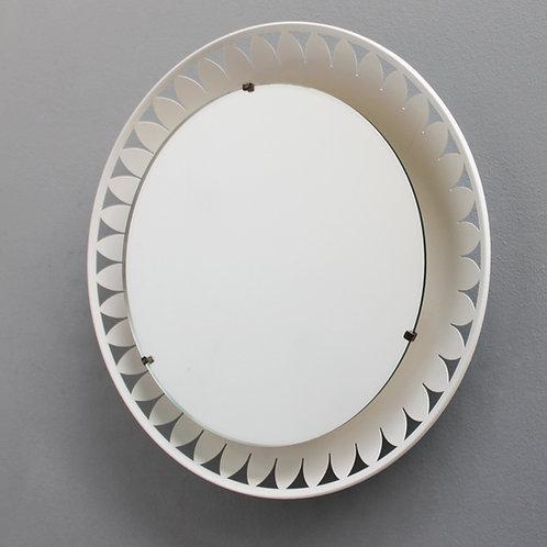 Flower-Shaped Illuminated Mirror by Ernest Igl for Hillebrand