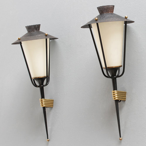 Pair of French Sconces by Maison Arlus