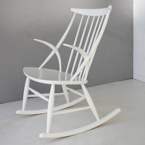 Danish Rocking Chair by Illum Wikkelsø