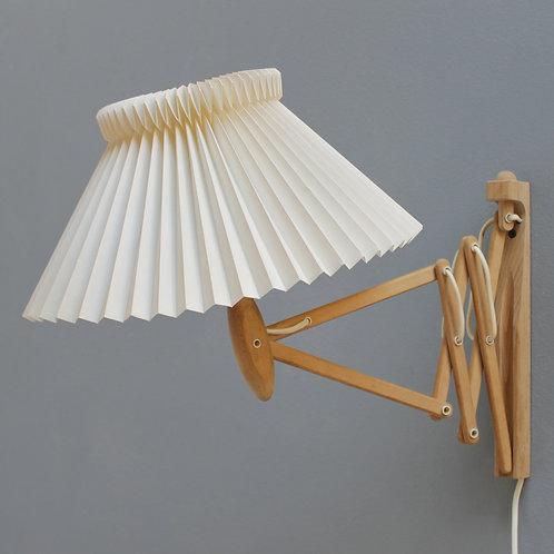 Le Klint 'Scissor' Wall Lamp by Erik Hansen