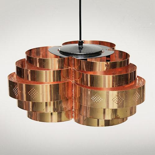 Danish Pendant by Verner Schou for Coronell Elektro