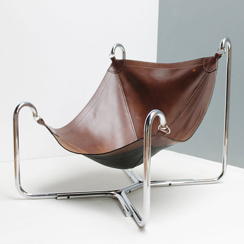 Baffo Lounge Chair by Didone and Pareschi for Busnelli