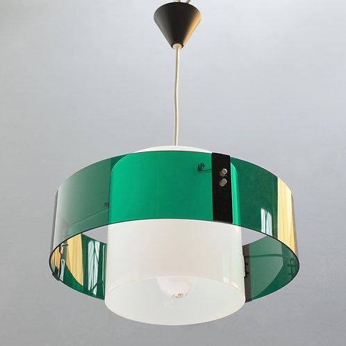 Modernist French Pendant Lamp