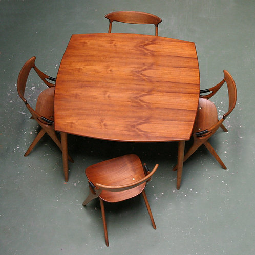 Danish Table by Arne Hovmand Olsen for Mogens Kold