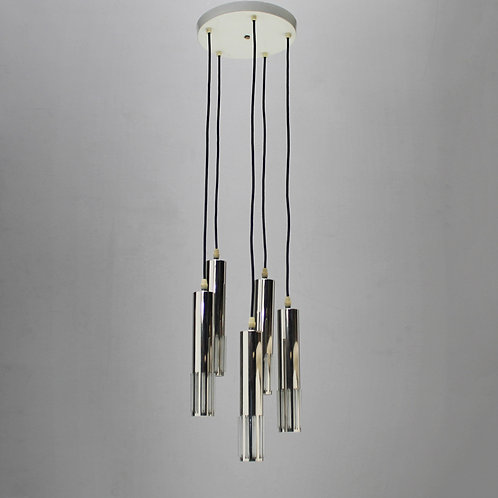 Chandelier with Five Pendants by Schmahl & Schultz
