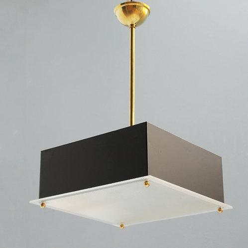 Modernist Pendant by Maison Arlus France