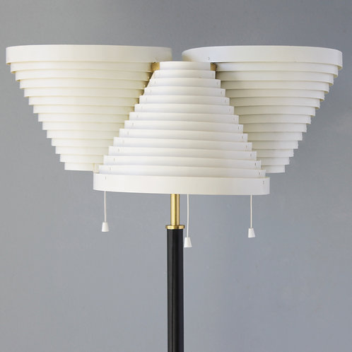 Floor Lamp A809 by Alvar Aalto for Valaisinpaja Oy